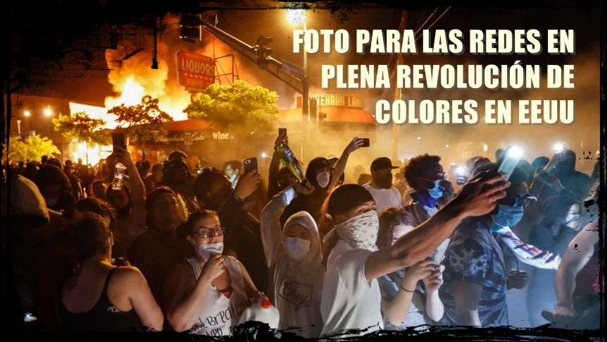 COLOR REVOLUTION IN US